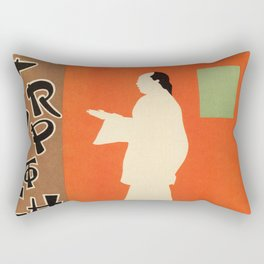 A trip to Chinatown Beggarstaffs Rectangular Pillow