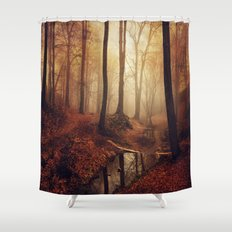 Forest Creek At Sunrise Shower Curtain