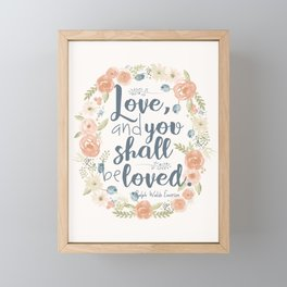 Sweet Sayings 3 Framed Mini Art Print