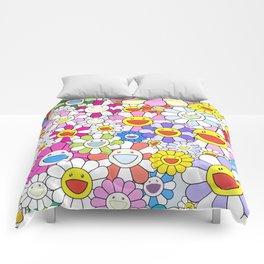 mukarami flowers Comforters