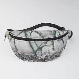 Dancing trees of Canadian Shield by Machale O'Neill Fanny Pack