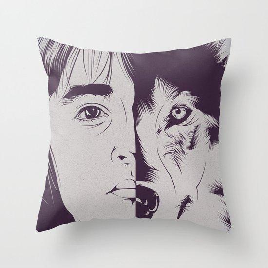 B.S. Throw Pillow