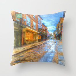 Shambles York Art Throw Pillow