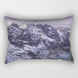 Mount Titlis, Swiss Alps Rectangular Pillow