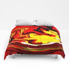 Lion Dance 2 Comforters