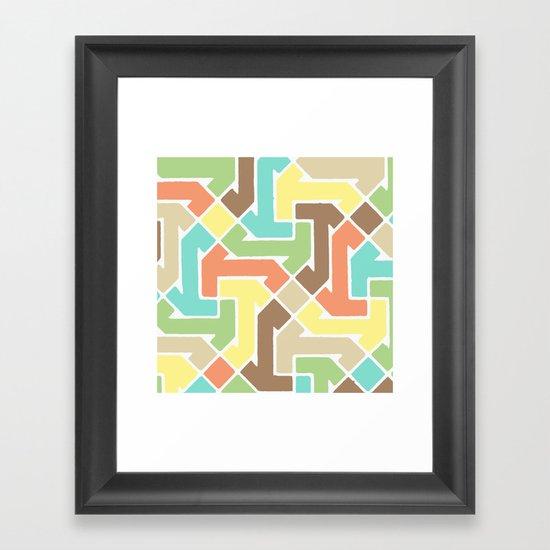 Azimuth 4 Framed Art Print