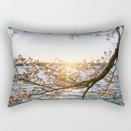 Sun Over the Horizon Rectangular Pillow