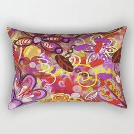 Renaissance Fair Rectangular Pillow