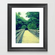 Into the Adventure Framed Art Print