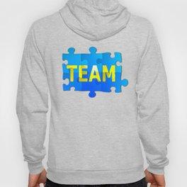 Team Jigsaw Puzzle Hoody