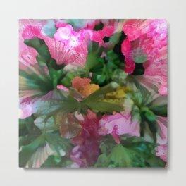 Palm Flower Metal Print