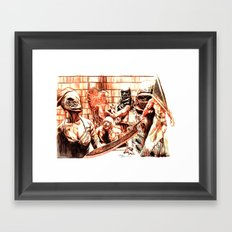 Silent Hill Framed Art Print