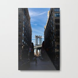 Brooklyn Afternoons Metal Print