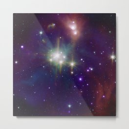 1848. Coronet Cluster: A Neighbor of Star Formation (A region of star formation about 420 light years from Earth.) Metal Print