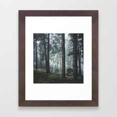 Path Vibes Framed Art Print