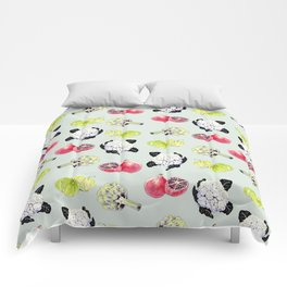 fruits and vegetables Comforters