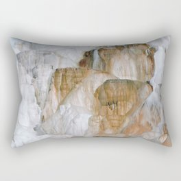 Yellowstone National Park Mammoth Hot Springs Rectangular Pillow
