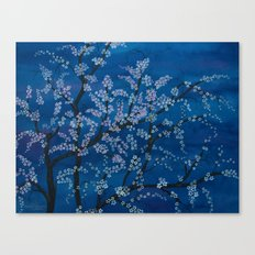 Spring Night Blues II Canvas Print