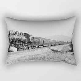 Deluxe Overland Limited Passenger Train Rectangular Pillow