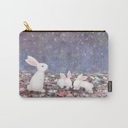 bunnies under the stars Carry-All Pouch