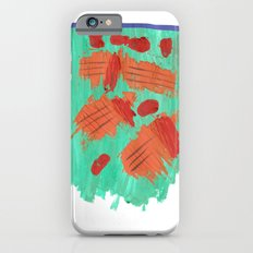 Traces on a grass... iPhone 6s Slim Case