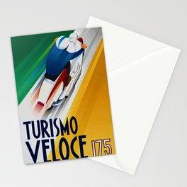 Vintage Turismo Veloce 175 - Lambretta TV175 Advertisement Poster Stationery Cards