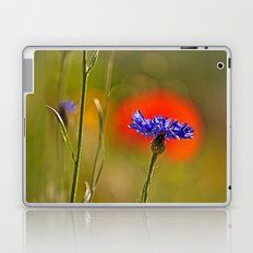 Cornflower and poppy Laptop & iPad Skin