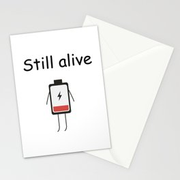 Still Alive Stationery Cards