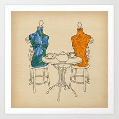 High Tea Art Print