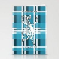 zebra Stationery Cards featuring Zebra  by mailboxdisco