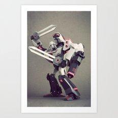 Megatron (Animated) Art Print