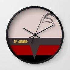 Chakotay - Minimalist Star Trek Voyager VOY - startrek Trektangle Trektangles Maquis Delta Quadrant Wall Clock