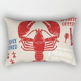 Le St-Jacques Lobster Shack Rectangular Pillow