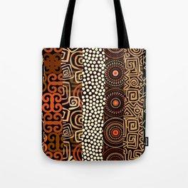 Geometric African Pattern Tote Bag
