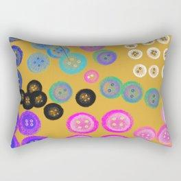 Sorting the Buttons Rectangular Pillow