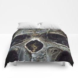 goliath skull Comforters