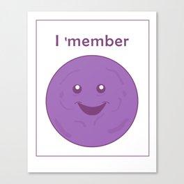 I member - member berries Canvas Print