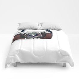Vintage Camera Comforters