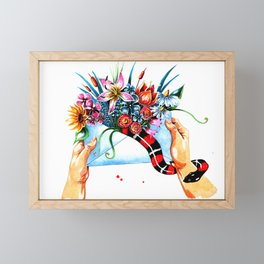mail Framed Mini Art Print