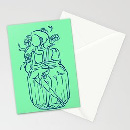 Flower Manifestation Stationery Cards