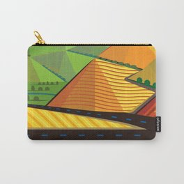 Valle de Guadelupe Wine Label Carry-All Pouch