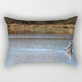 Gone Fishing 2 Rectangular Pillow