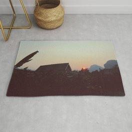 Vang Vieng Sunset Rug