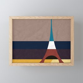 Paris, Eiffel Tower Framed Mini Art Print