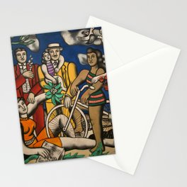 Paris, France Centre Pompidou family and friends portrait by Fernand Leger Stationery Cards