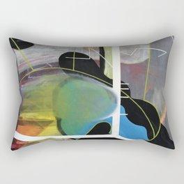 200% (oil on canvas) Rectangular Pillow