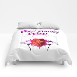 PREGNANCY PEEP Comforters