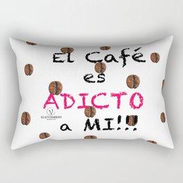 El Café es Adicto a Mi! Rectangular Pillow