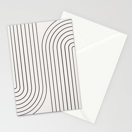 Minimal Line Curvature I Stationery Cards