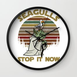 seagulls stop it now Wall Clock
